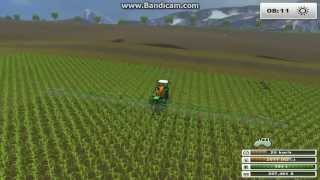 Zagrajmy w farming simulator 2013 na mapie USA odc 15 Opryskiwanie