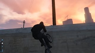 【GTA5】BMXで壁登りに挑戦! thumbnail