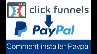 Configurer Paypal à Clickfunnels