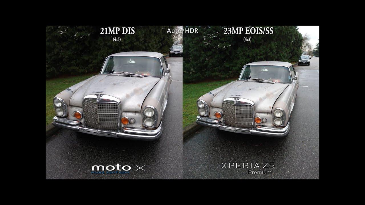 Moto X Pure Edition vs Sony Xperia Z5 Premium