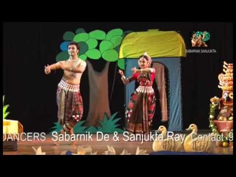 Tolagi Gopadanda (Abhinaya)- Odissi - Sabarnik De & Sanjukta Ray