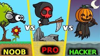 EPIC BATTLE NOOB vs PRO vs HACKER in FLYORDIE.IO !!! | FlyOrDie.io by LeeZY
