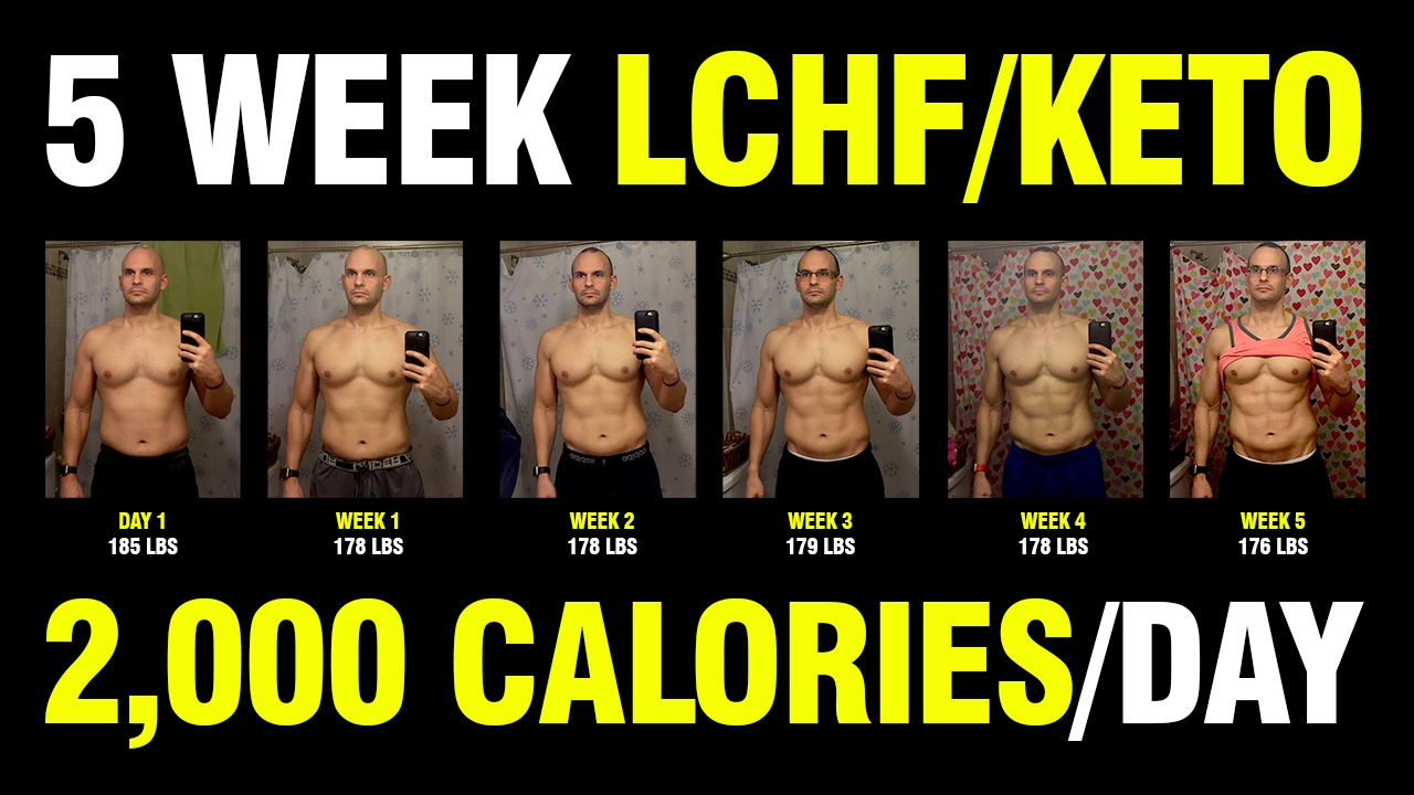 LCHF / KETO - 5 WEEK RESULTS - YouTube