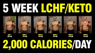 LCHF / KETO - 5 WEEK RESULTS