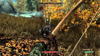 Skyrim: How to start the Dawnguard quest before lvl 10. (PC/XBOX/PS3/REMASTER)