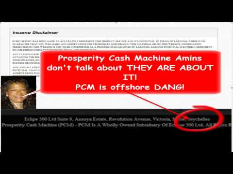 Prosperity Cash Machine Is Offshore