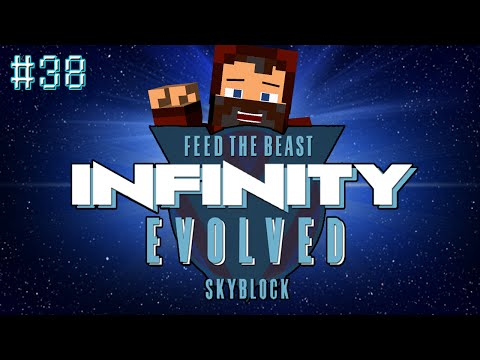 """CLUTCH ELECTRICAL STEEL!"" INFINITY EVOLVED SKYBLOCK #38"