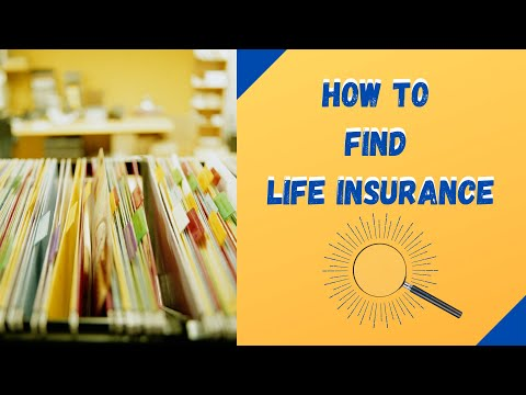 How To Find Life Insurance