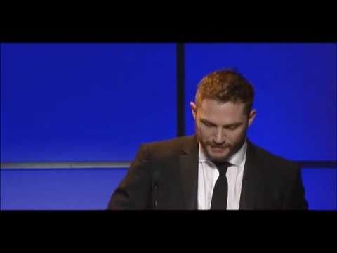 Tom Hardy And Christopher Nolan At The VES Awards 2011