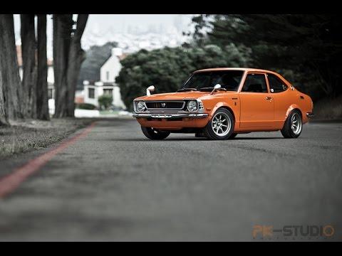 1973 Toyota Corolla behind the scenes photoshoot video