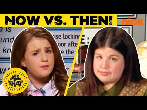 NOW vs. THEN: All That Characters Return! | #TBT