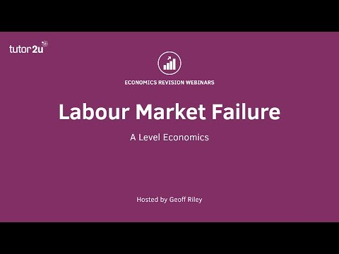Labour Market Failure
