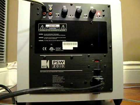 badr sound works kef psw2010 youtube rh youtube com PSW Batery Charger PSW Supplier