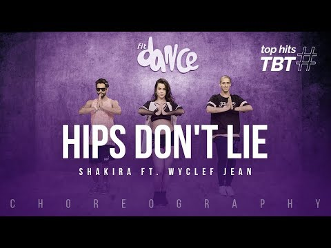 Hips Don't Lie - Shakira ft. Wyclef Jean | FitDance Life (Choreography) Dance Video