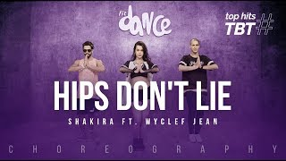 Hips Don't Lie - Shakira ft. Wyclef Jean | FitDance Life #TBT (Choreography) Dance Video
