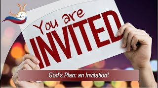 God's Plan: an Invitation! (5)