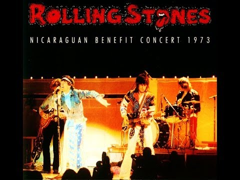ROLLING STONES: No Expectations (Live Jan.18th 1973 - Benefit Concert)