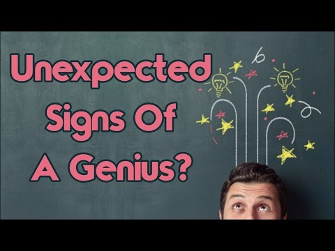 7 Unexpected Signs You Might Be A Genius