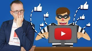 Массово крадут каналы на YouTube! Пропадают лайки и трафик. Тревожные новости 10.07.19