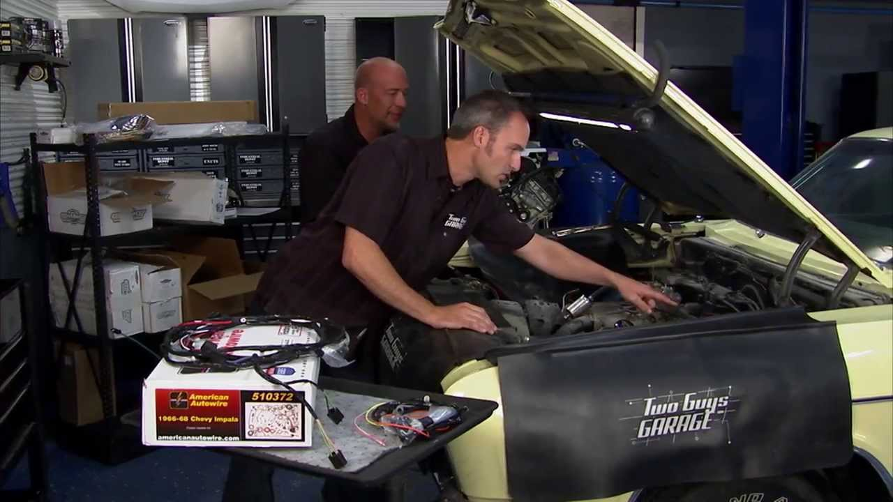 Aaw On Two Guys Garage Featuring Factory Fit Wiring For A 66 Impala 1966 Wire Harness Kit
