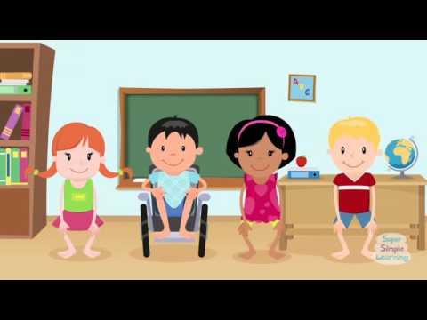 Head Shoulders Knees & Toes (Learn It)