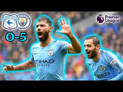 Cardiff City 0-5 Manchester City Reaction | Aguero Scores in His 300th Game