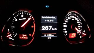 2010 Audi A6 C6 3.0 TDI quattro , top speed 269 km/h , 295 hp chipped , 4 minutes over 260 km/h #3