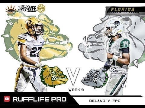 HS Report | WK 9 Deland V Flagler Palm Coast | THE DAWG FIGHT