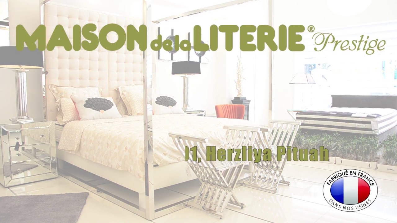 inauguration de maison de la literie prestige en isra l youtube. Black Bedroom Furniture Sets. Home Design Ideas