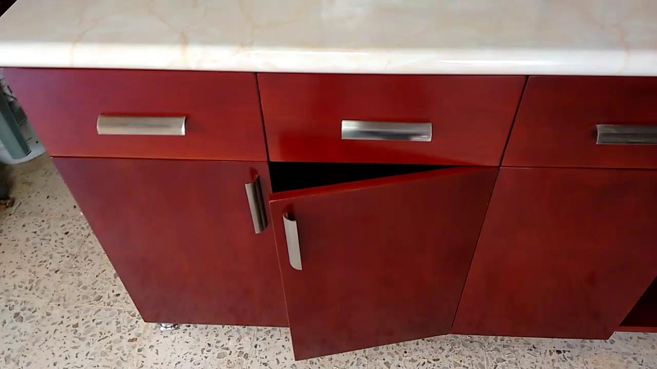 Mueble de cocina con sistema de cierre suave . - YouTube