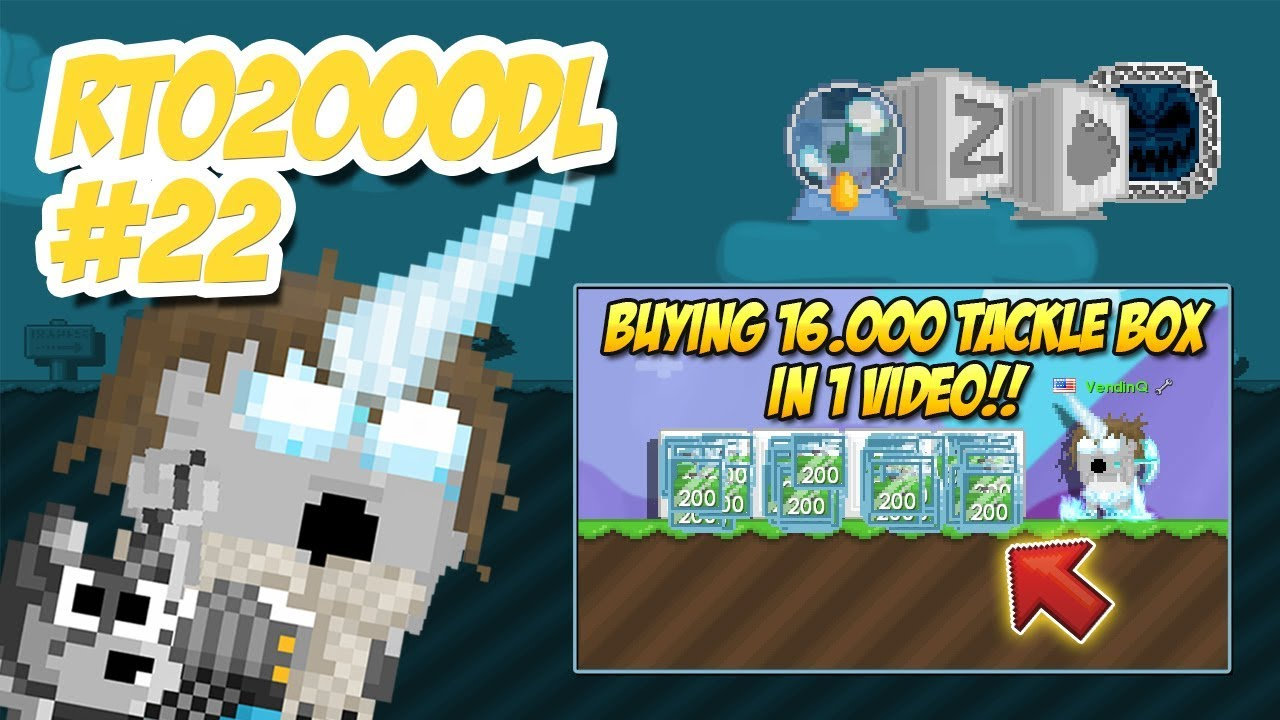 BUYING 16,000 TACKLE BOX 😱 | Road to 2000DL #22 | Growtopia