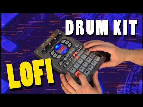 """Making a beat with Lofi Hip-Hop """"Loose Endz"""" Drum Kit"""