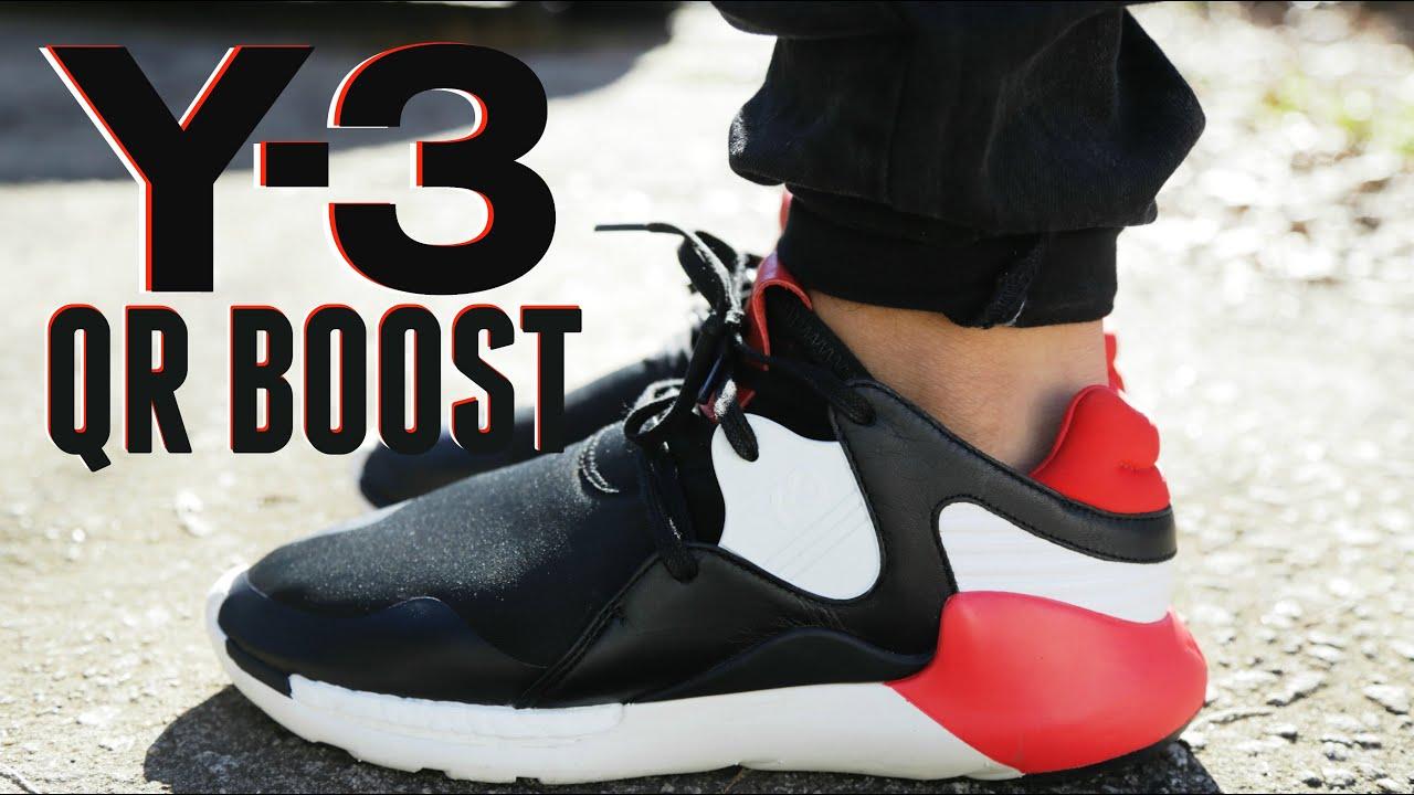 a2f6a74e1 Adidas Y-3 QR BOOST