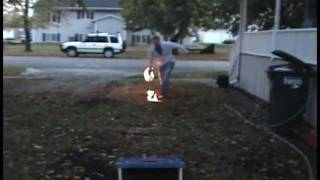 Toss.0 - Amazing Cornhole Trick Shots + 109 ft World Record Longest Shot - Bean Bag Toss - Toss.o