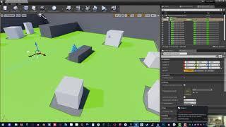 налаштування навігації VR в unreal engine 4 частина 1