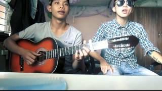 Forever Alone ( Acoustic Cover ) - Mfeel ft BBoy Bigkidz Guitar