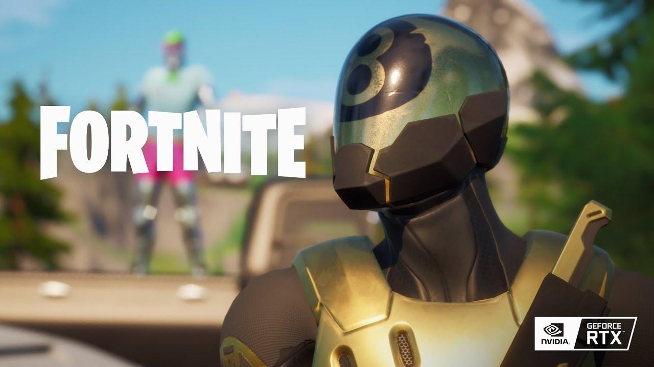 ¡El trazado de rayos para Fortnite aterriza en PC!