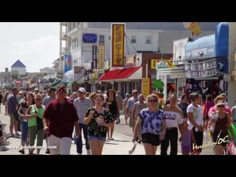 Ocean City Boardwalk - Ocean City, Maryland