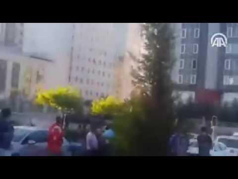 F-16 Ankara'da vatandaşların üzerine böyle bomba attı!