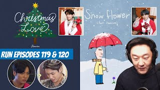 Download lagu DJ REACTION to KPOP - JIMIN CHRISTMAS LOVE, V SNOW FLOWER, GAHO, RAIN & JYP, TXT, RUN BTS 119 120