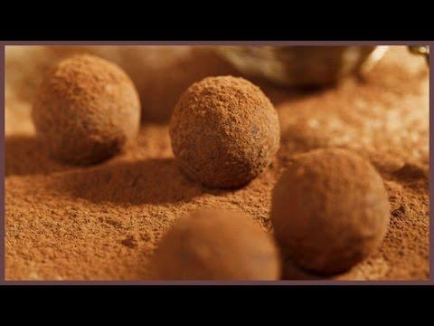 Трюфели. Шоколадные трюфели рецепт. Шоколадные конфеты. Рецепт шоколадных конфет.