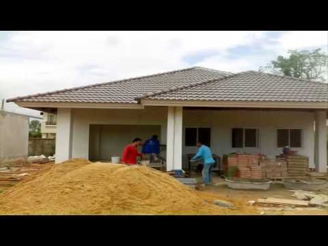 รับสร้างบ้านโคราช บ้านเดี่ยว ชั้นเดียว ราคาเพียง 900,000 บาท