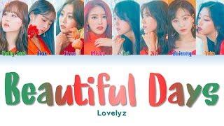 """Lovelyz 러블리즈 """" Beautiful Days 그 시절 우리가 사랑했던 우리 """" Lyrics (ColorCoded/ENG/HAN/ROM/가사)"""