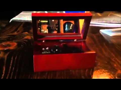 Lilium 18 Note Music Box