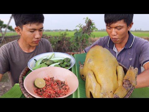 Gà Nướng Kiểu Quê Nhà Miền Tây Cực Ngon | VTNam Vlog #01