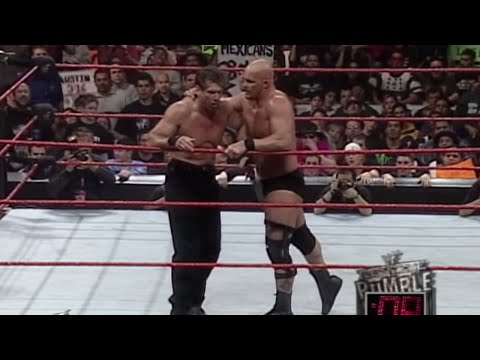 """Stone Cold"" Steve Austin finally gets his hands on Mr. McMahon during the Royal Rumble Match: Royal"
