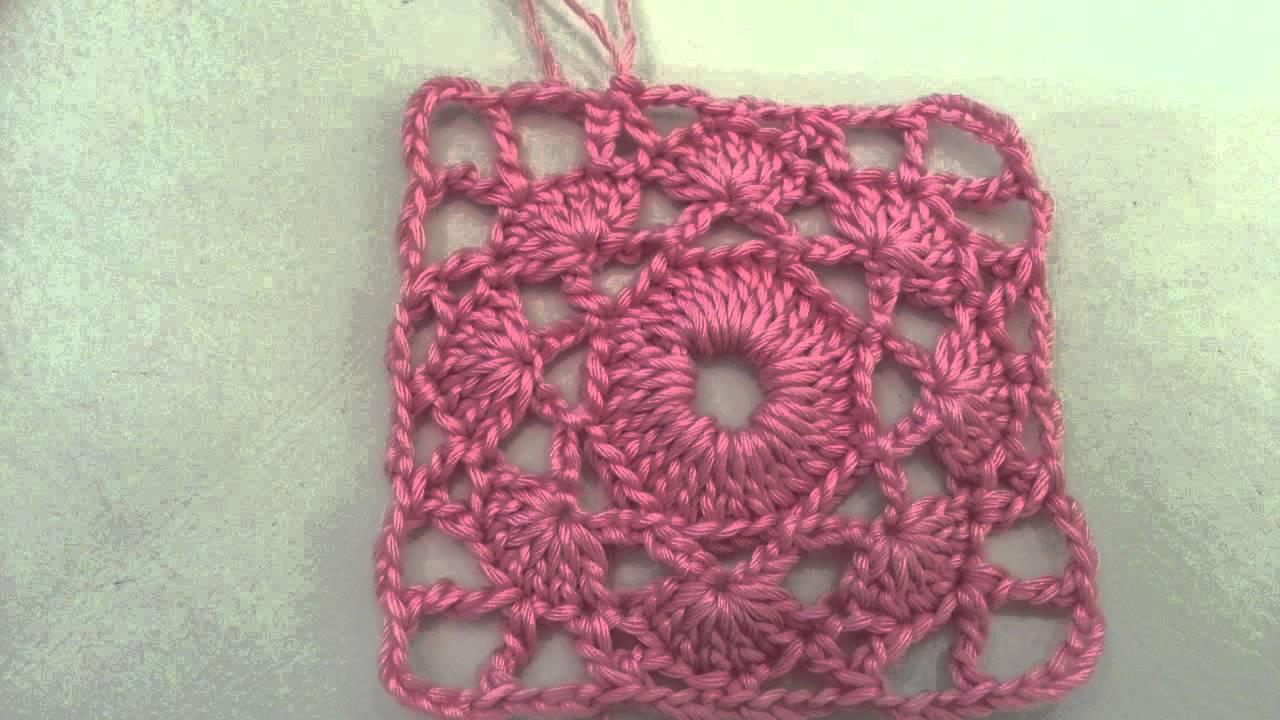 Crochet Granny Square Pattern 1 Youtube