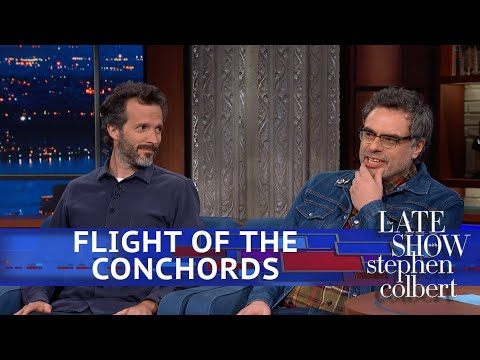 Flight Of The Conchords Explain Where They've Been