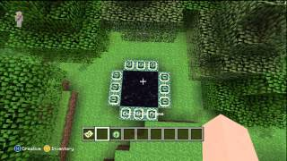 How to build a End Portal - Minecraft Xbox 360