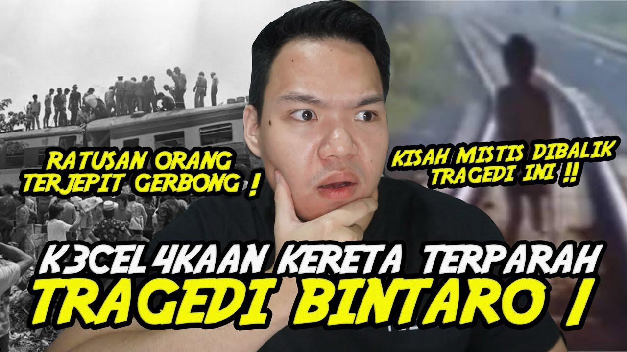 KISAH TRAGEDI BINTARO 1 DAN KISAH MISTIS DIBALIKNYA !!